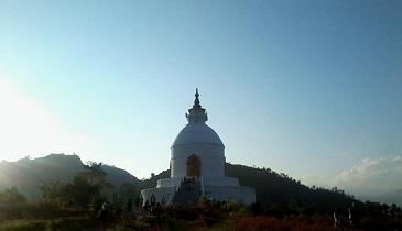 Pokhara Shanti Stupa