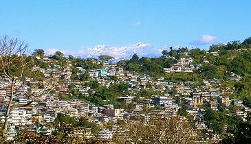 Kalimpong town
