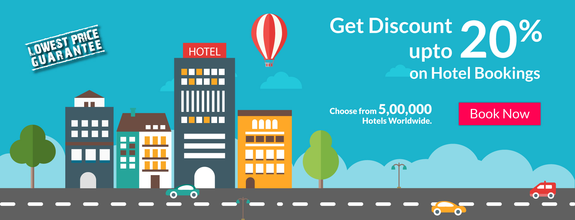 Travel discount hotel coupon magazine