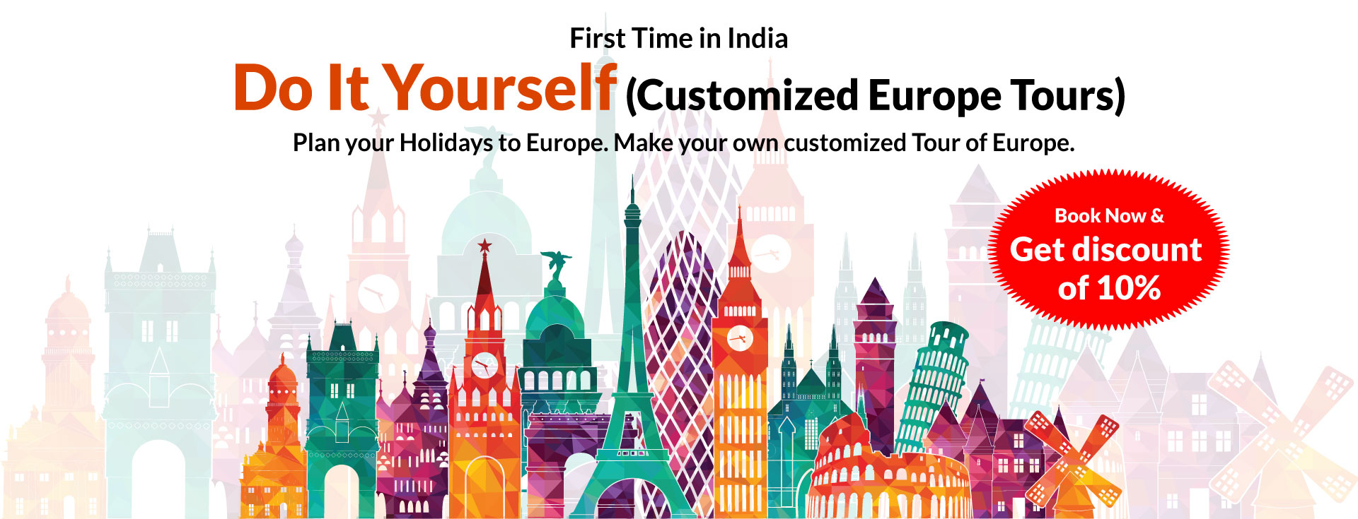Europe Customised Tour Packages