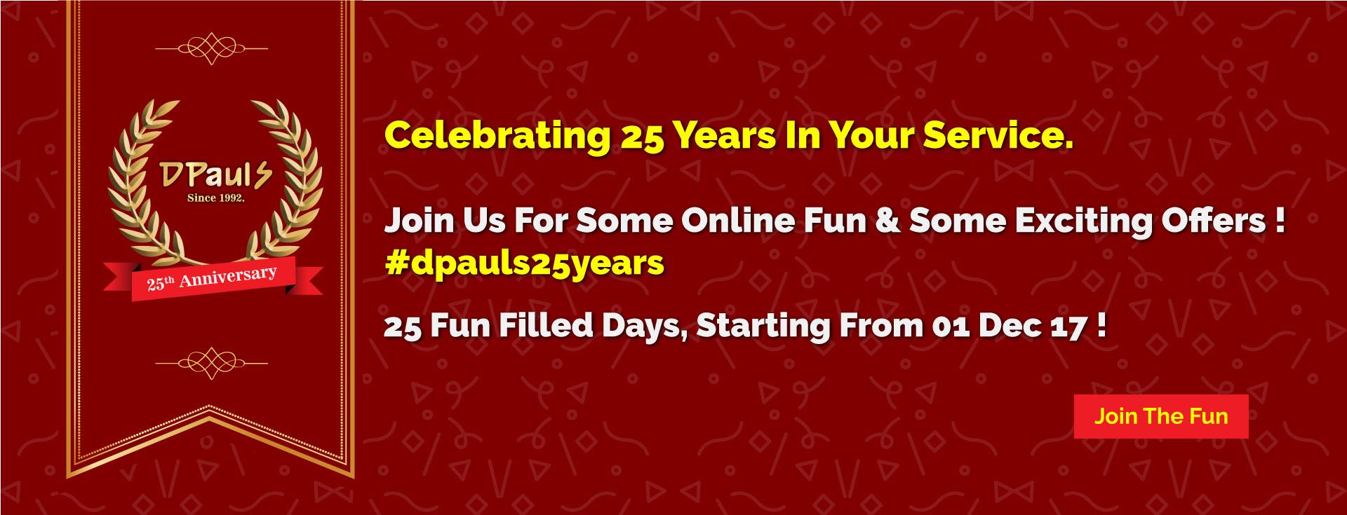 DPauls 25 Years