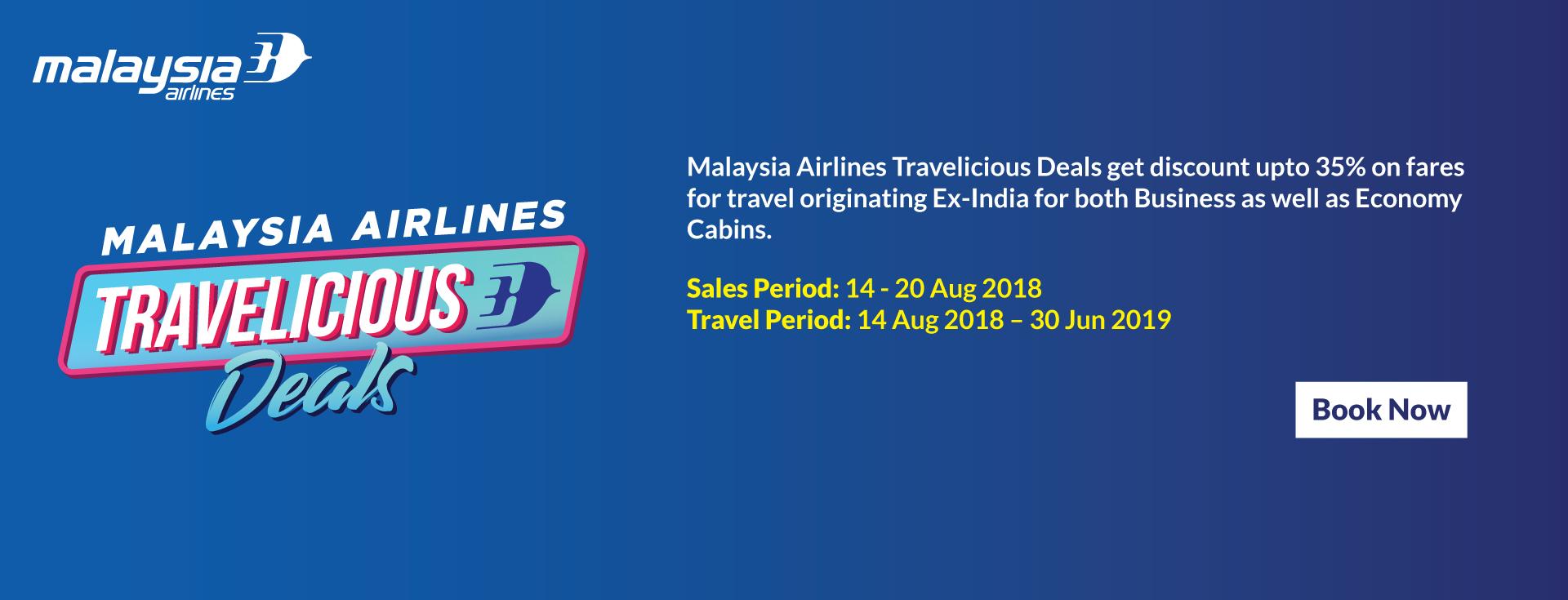 Malaysia Airline Airfare Sale