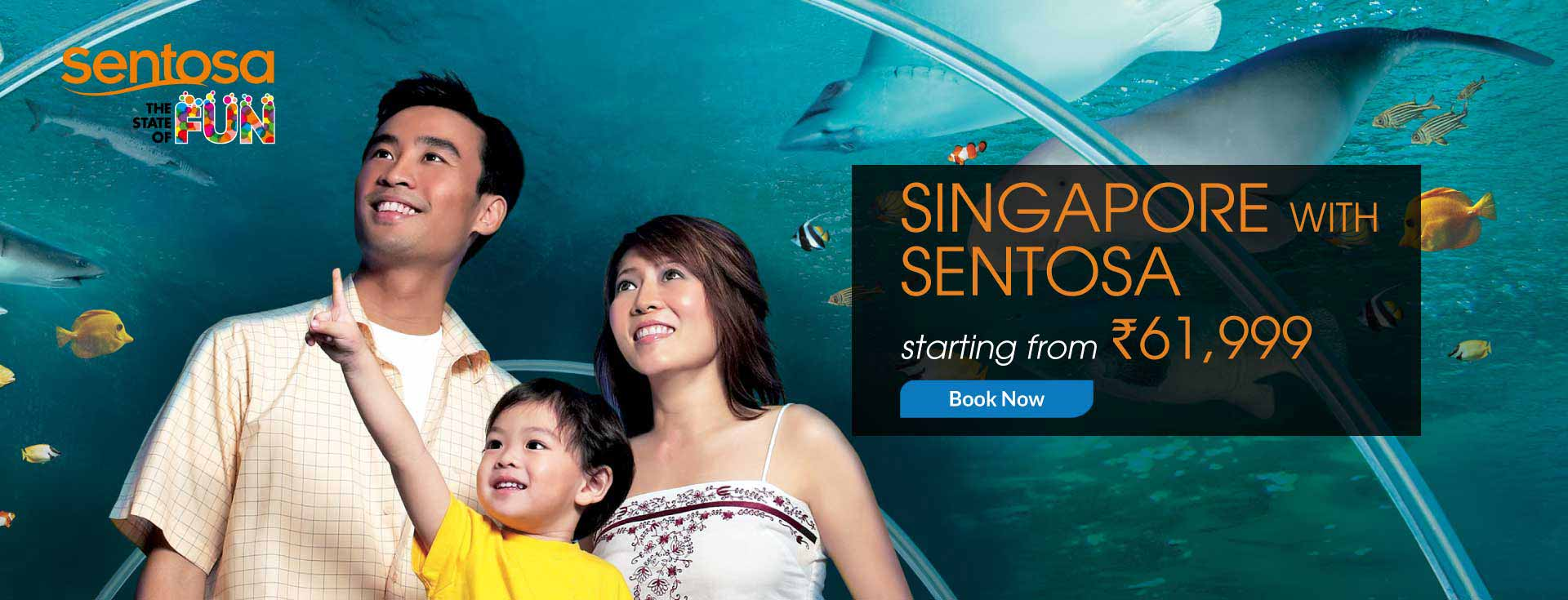 Singapore with Sentosa Package