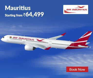 Air Mauritius Packages Starting from Rs.64,499