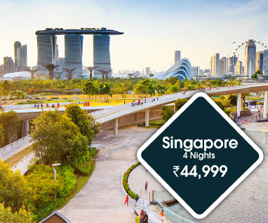 SIngapore 4 Nights Rs, 44999