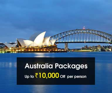 Australia Packages Save Up to Rs.10000/- p.p.