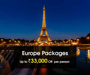 Europe Packages Save Up to Rs.33000/- p.p.