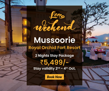 Mussoorie @ Rs.5,499/- Per Person