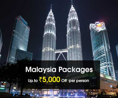 Malaysia Packages Save Up to Rs. 5000/- p.p.