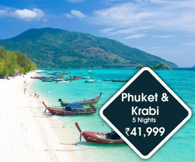 Phuket with Krabi 5 Nights Rs. 39999/-