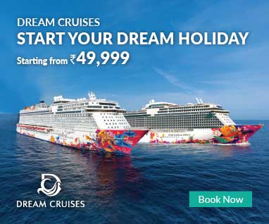 Dream Cruises Starting from Rs.49999