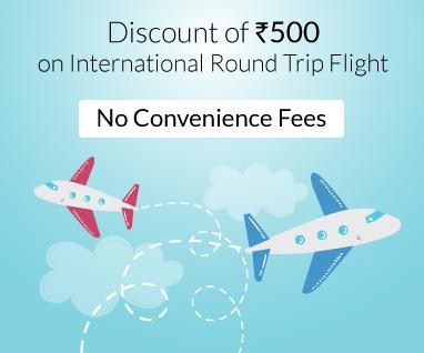 INTERNATIONAL ROUND TRIP FLIGHT OFFER