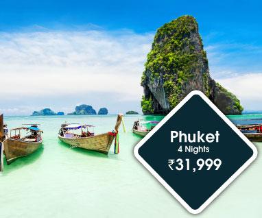 Phuket 4 Nights Rs.31999