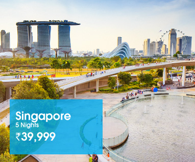 Singapore 5 Nights Rs.39999/-