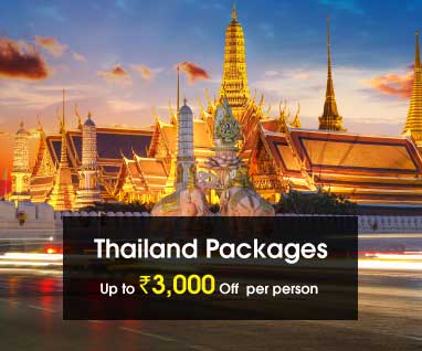 Thailand Packages Save Up to Rs. 3000/- p.p.