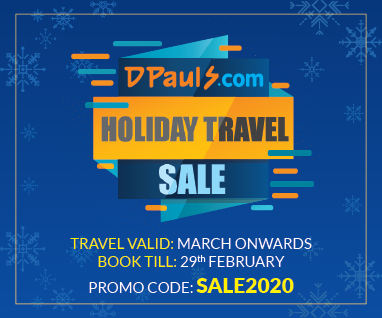 Get Discount upto Rs.2000 Per Person
