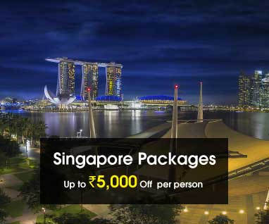 Singapore Packages Save Up to Rs. 5000/- p.p.