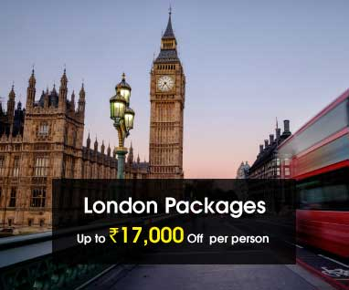 London Packages Save Up to Rs. 17000/- p.p.